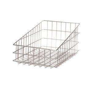 Wire Bagel Basket 11 inch x 18 1/2 inch - Slant Top