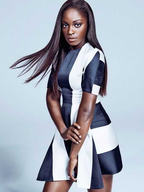 "Sloane Stephens in a Stella McCartney dress and Robert Lee Morris ring. She was voted into the No. 15 spot by viewers on #Tennis Channel's ""Best of 5 Heartthrobs"" list."