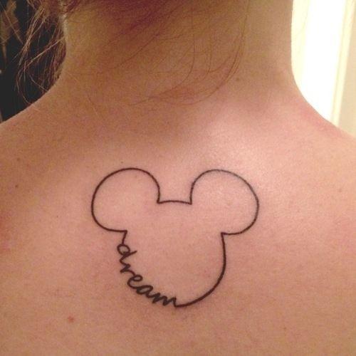 24 incríveis tatuagens sutilmente inspiradas na Disney