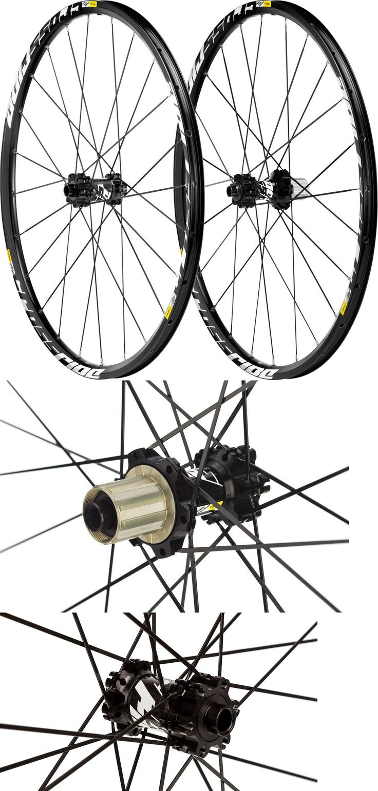 "Wheels and Wheelsets 177830: Mavic Crossride Disc 29"" Mtb Wheelset, 6 Bolt Disc, Alloy Freehub, Black New -> BUY IT NOW ONLY: $179.99 on eBay!"