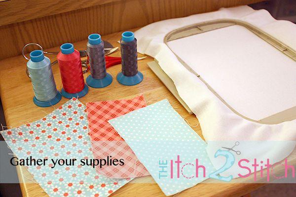 Itch stitch tutorial how a multiple fabric