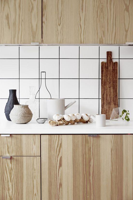 Natuurlijke houten keuken | Wooninspiratie