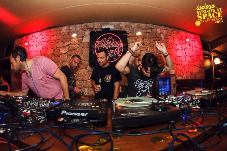 After Dark Parties @ We Love Space ~ DJ Mr. Doris ~  Wearing OCO Ibiza Bracelet.   http://www.mrdoris.co.uk/