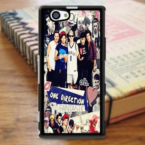 One Direction Cool Fantastic Collage Sony Experia Z3 Case