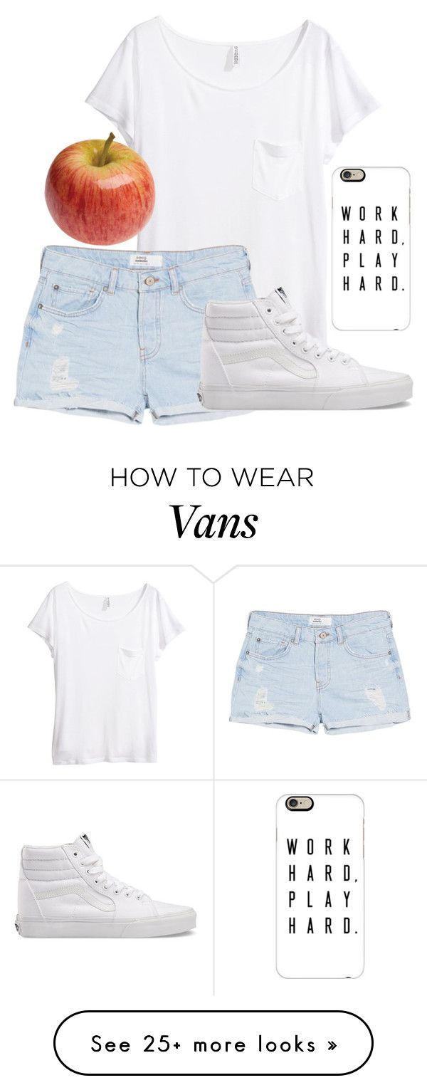 """""""Untitled #607"""" by cookiescakeandhulahoops on Polyvore featuring H&M, MANGO, Vans, Casetify and GALA"""