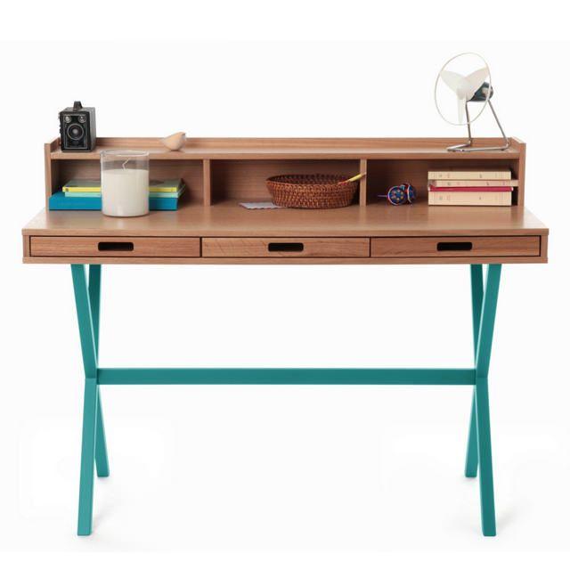 scrivania design in legno by HARTÔ