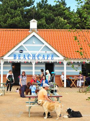 Beach Café : Eat & Drink : Holkham Hall and Estate - North Norfolk, England