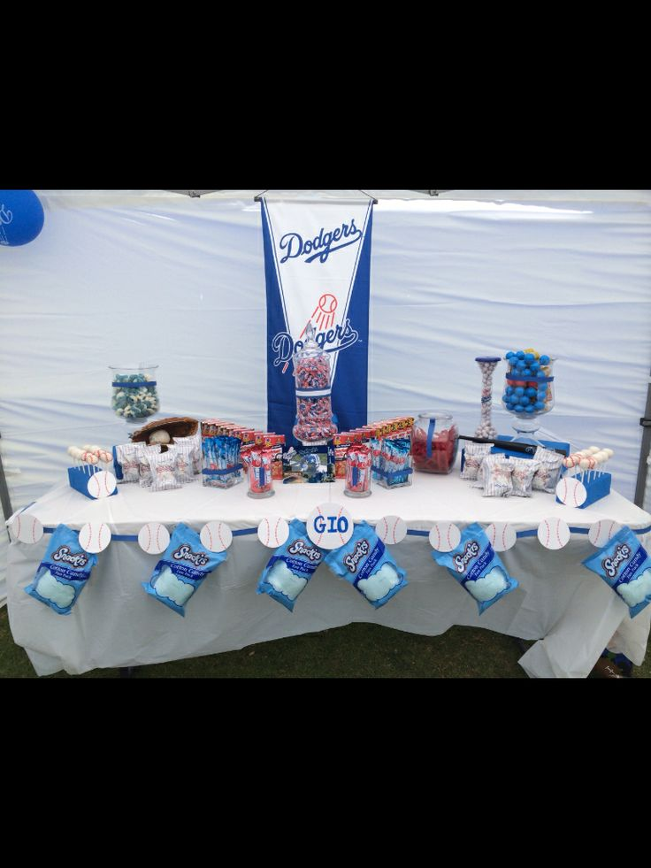 25 best Dodgers babyshower images on Pinterest | Baby shower ...
