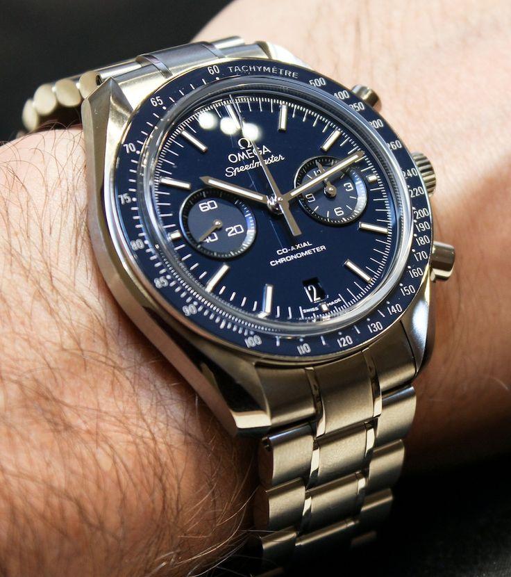 Omega Speedmaster Co-Axial Chronograph Titanium Blue (ref: 311.90.44.51.03.001)