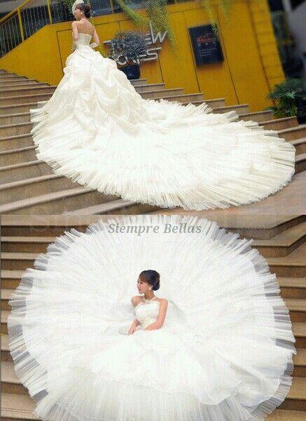 Mejores 188 imágenes de Novias en Pinterest | Alta costura, Vestidos ...