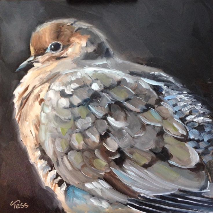 """""""When Doves Cry - Prince"""" original fine art by Tess Lehman"""