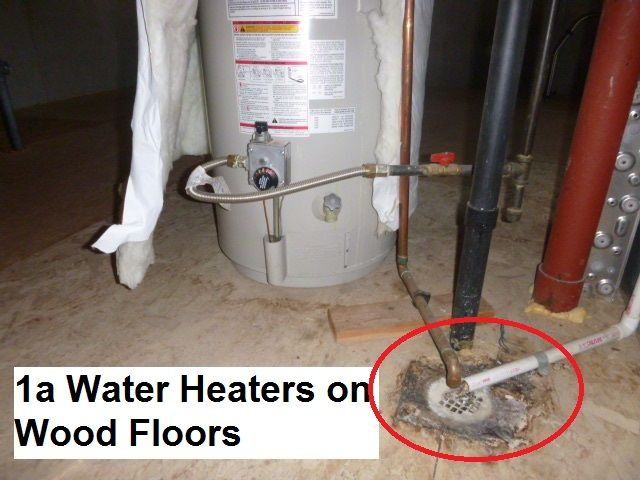 Water Heater Overflowed The Floor Drain And Caused