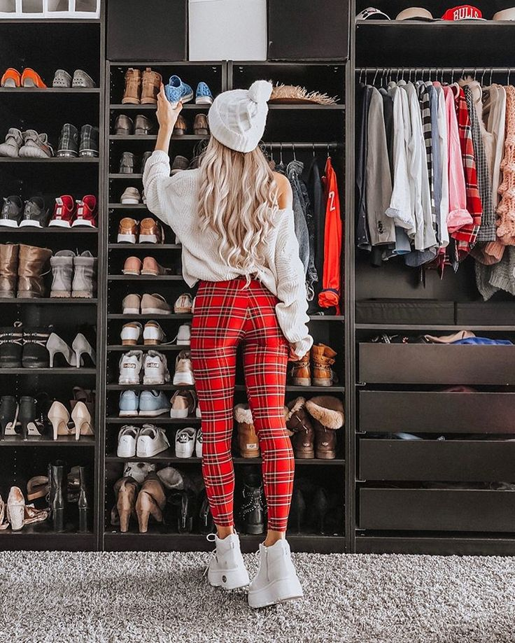 Wie viele paar Schuhe hast du? Also ich habe meine heute