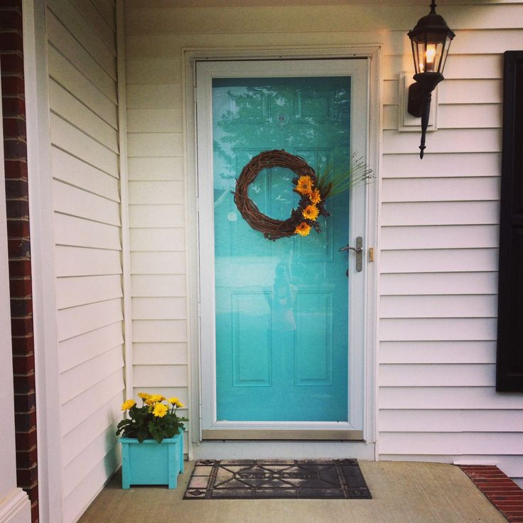 Best 25 Turquoise Front Doors Ideas On Pinterest