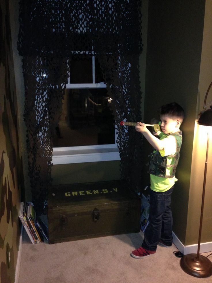 My Little Soldiers New Bedroom Camo Wall Foot Locker As