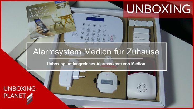 Video mit Unboxing Alarmsystem Medion P85770 #video #unboxing #alarmsystem #medionp85770