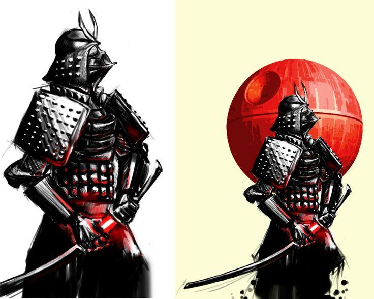 Samurai Star Wars Mashup