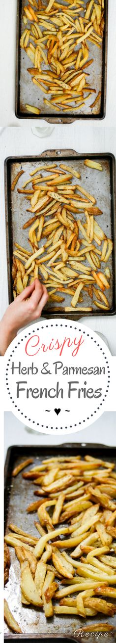 The Best Ever Parmesan French Fries – Rebels Kitchen