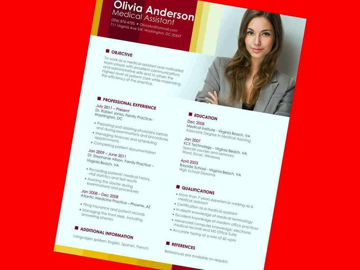 9 best latest resume images on Pinterest Sample resume, Job - acting resume template for microsoft word