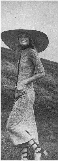 Gunilla Lindblad Vogue 1971 | Repinned by Temple Towels & Swim, www.templetowels.com