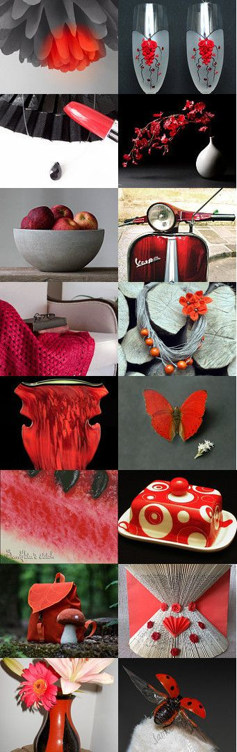 Color of Passion! by Tina on Etsy--Pinned with TreasuryPin.com