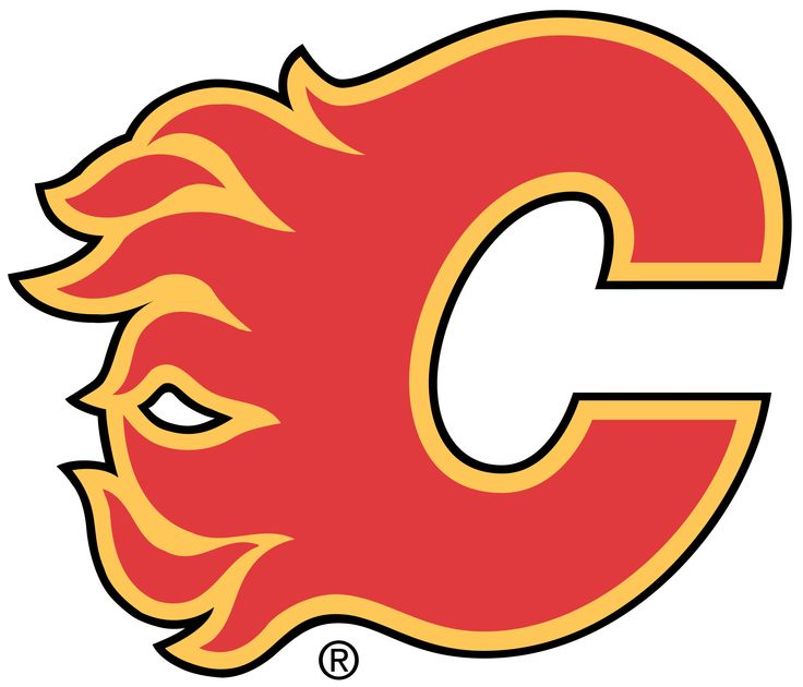 NHL Calgary Flames Logo Wallpaper