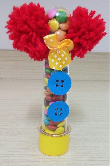 Tubete palhacinho - Festa Circo