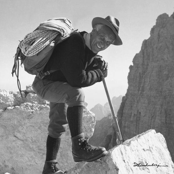 Luis Trenker führte ein aufregendes Leben. Er war als Bergsteiger, Schauspieler, Regisseur und
