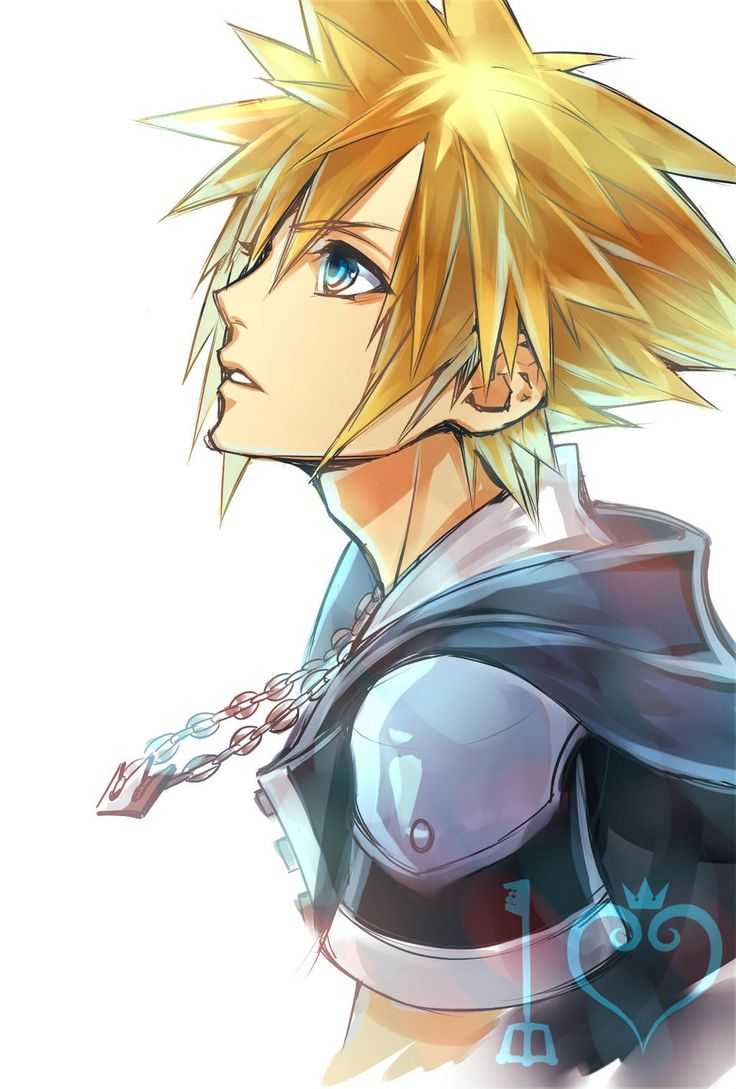 Cloud<--- have no idea who this is just know he's a video game character <<< actually it isn't Cloud it's Sora from Kingdom Hearts, made by the same company though...