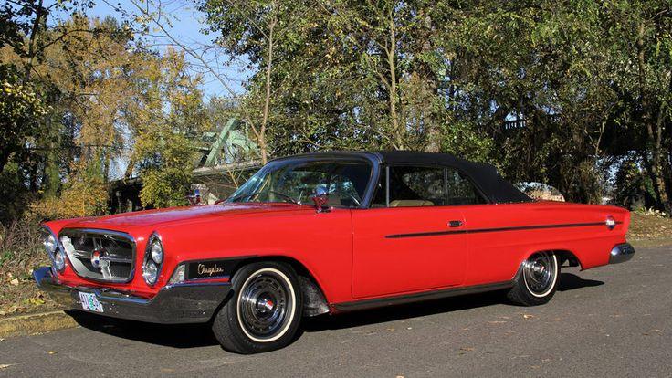 1962 Chrysler 300H Convertible | F216 | Portland 2016 #US cars