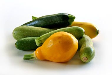 Summer Squash and Zucchini _ What to do with all that zucchini? This time of year people who have gardens and who have planted squash in said gardens usually have zucchinis coming out of their ears. If you find yourself in the land of summer squash plenty, here are some ideas from Simply Recipes for what to do with them:
