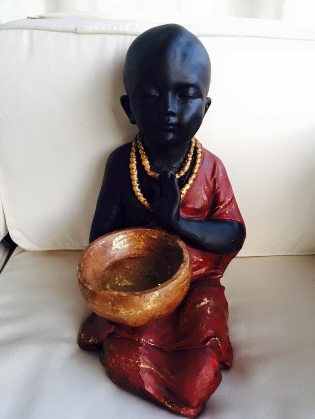 Buda pintura acrílica