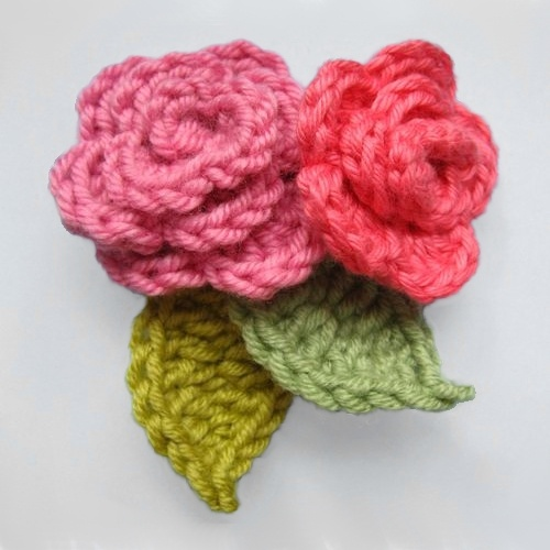 ...tutorial and written instructions for a coiled Rose with leaves *
