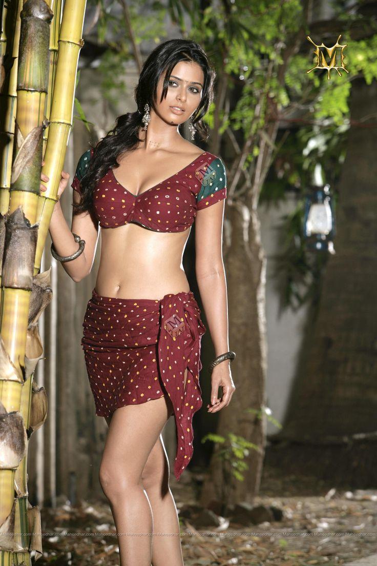 Meenakshi Dixit Hot Navel show | www.deccan-journal.com