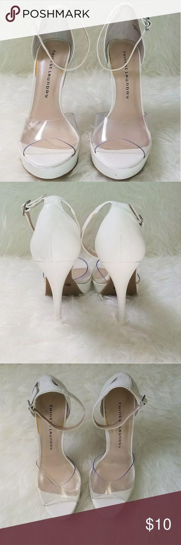 I just added this listing on Poshmark: Chinese Laundry Peep Toe Heels. #shopmycloset #poshmark #fashion #shopping #style #forsale #Chinese Laundry #Shoes