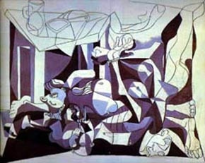Pablo Picasso Periods, War Time Period