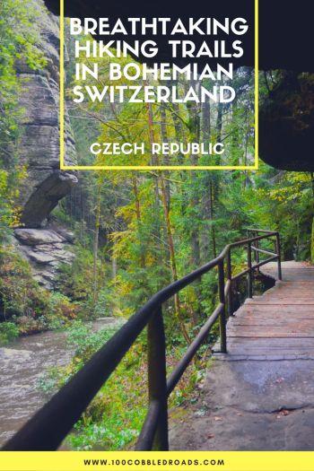 Breathtaking hiking trails in Bohemian Switzerland
