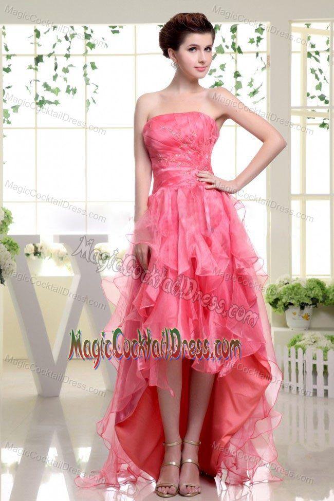 7 best Pink Cocktail Dresses images on Pinterest | Prom dresses ...