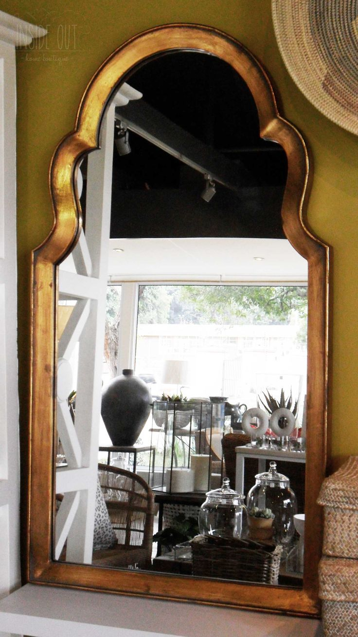 In Stock - Copper Finish Mirror - Inside Out Home Boutique - Please check stock availability