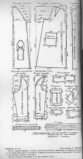 from Russia: clothing patterns, 1957 - Svet Lana - Álbuns da web do Picasa