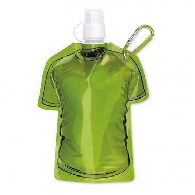 Promotional Foldable Drink Bottle T Shirt Shape - Green :: Promotional Mugs and Bottles :: Promo-Brand Promotional Merchandise :: Promotional Branded Merchandise Promotional Products l Promotional Items l Corporate Branding l Promotional Branded Merchandise Promotional Branded Products London