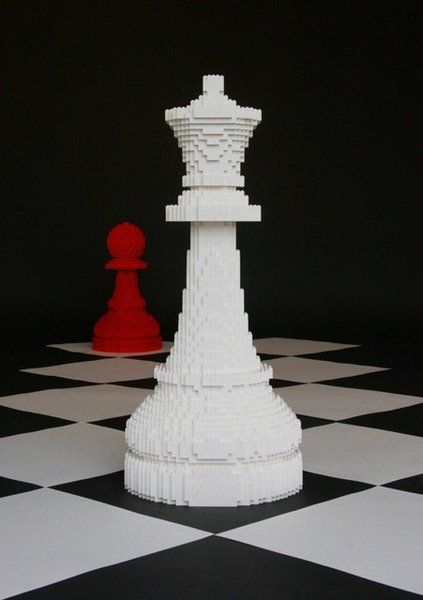 Lego chess! Get regular, quality chess sets from Chess Baron Canada www.chessbaron.ca