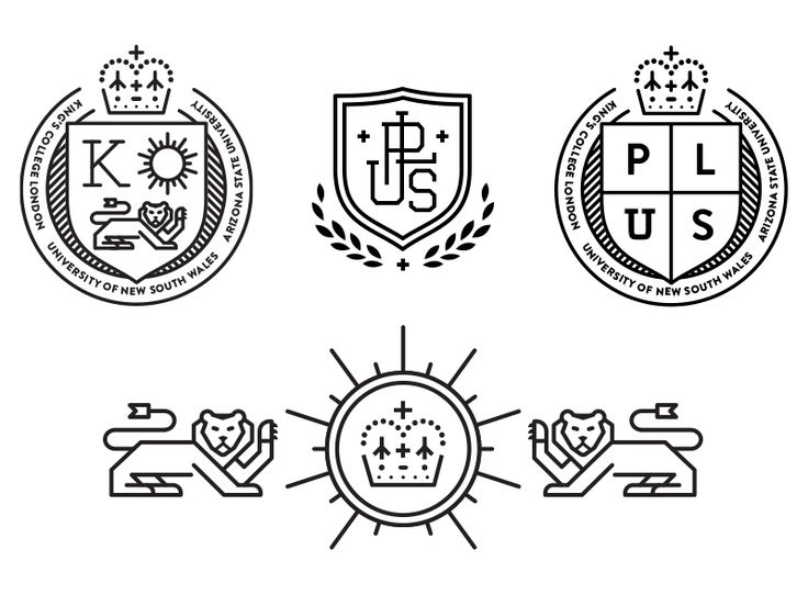 Badge/Crest Logo Options by Adam Butler