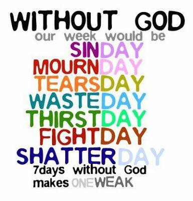 Without God...