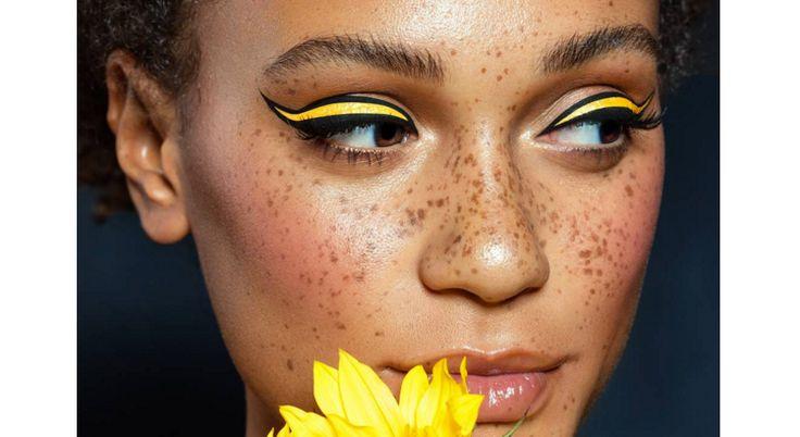 Instagram : zoom sur les liners colorés - Marie France, magazine