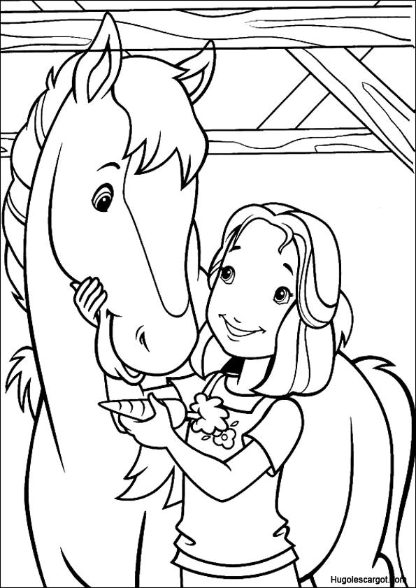 paarden kleurplaten paardenpraattv kleurplaat lekker