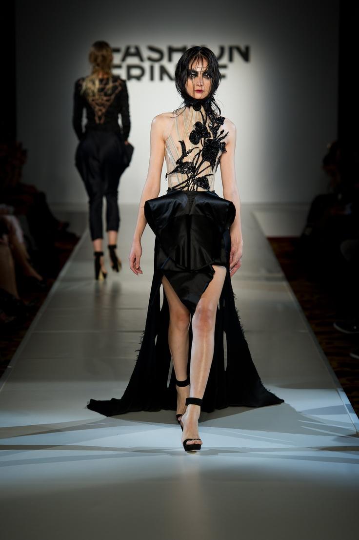FYODOR GOLAN SS12 (c) Ian Gavan/Getty Images for Fashion Fringe: 2011 Fyodor, Fyodor Golan, Catwalks, Fyador Golan, Fashion Design, Golan Ss12, Evil Ss12, Fashion Fringes, Flower