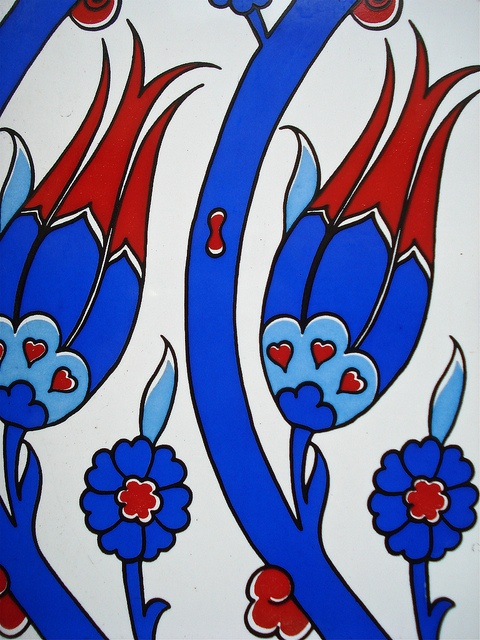 Turkish traditional pottery colors by hzenilc, via Flickr