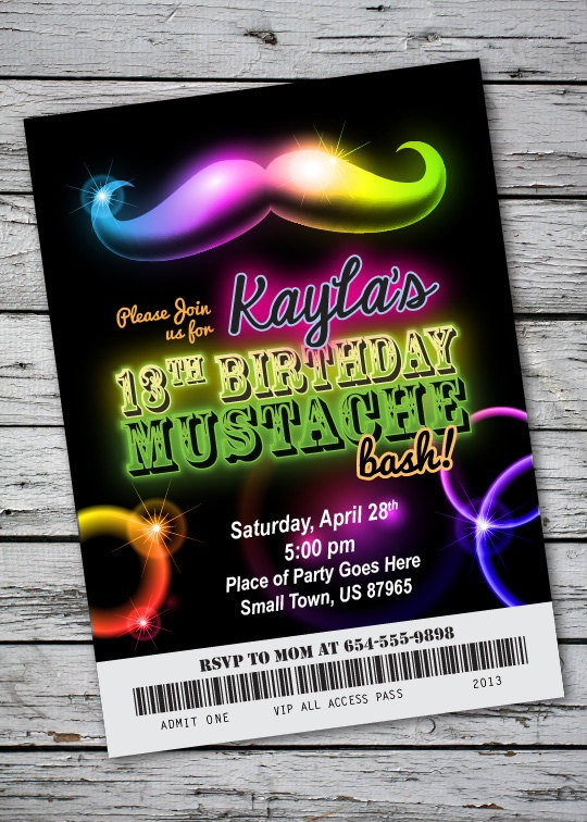 70 best images about Printable Birthday Invitations on Pinterest