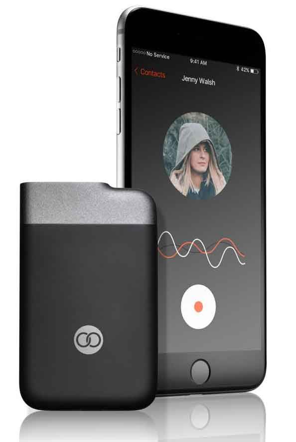 'Turn your smartphone into a walkie-talkie.' That's a simple premise of the Beartooth device, which goes on sale today.